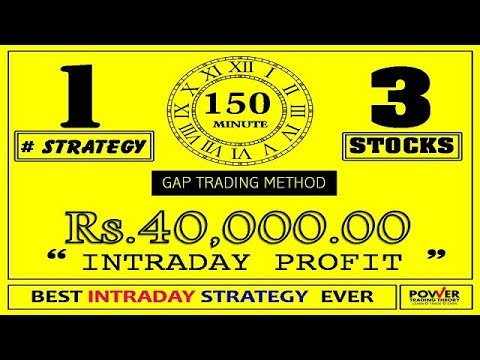 TRADING MORNING GAPS / A SECRET INTRADAY STRATEGY OF PRO-TRADERS AND INSTITUTIONS / 100% WORKING