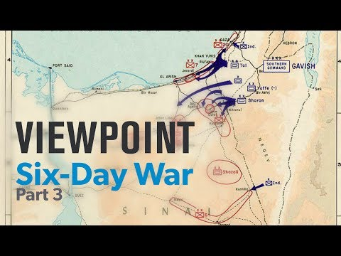 Six-Day War: 50th Anniversary with David Makovsky   VIEWPOINT