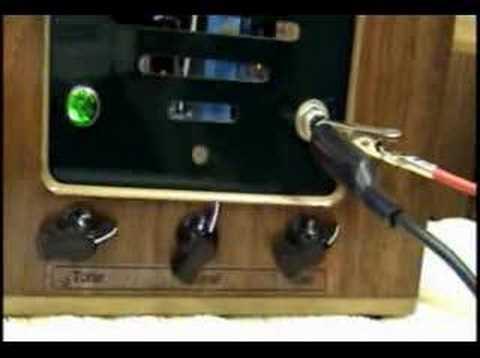 D-Lab Mojo Tube Guitar Amp Amplifier Vintage Cabinet 6V6 5 W