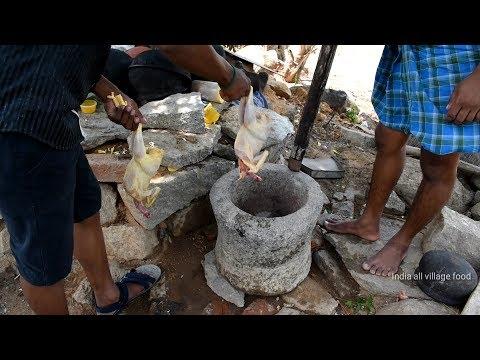 Tn Nattu Koli soup chicken Old style village food Recipe//handicapped cooking my brother-i v food