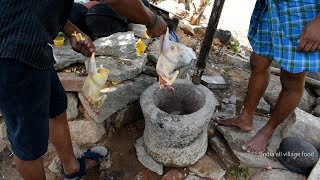 Tn Nattu Koli soup chicken Old style village food Recipe//handicapped cooking my brother