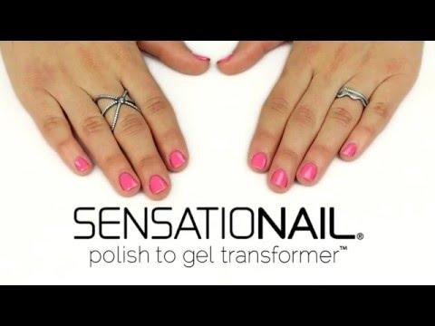 Transform Any Nail Polish to Gel! | SensatioNail Polish to Gel Transformer