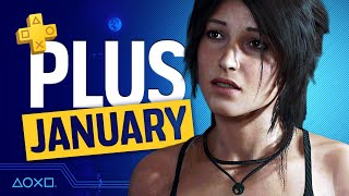 PlayStation Plus Monthly Gaṁes - PS4 and PS5 - January 2021