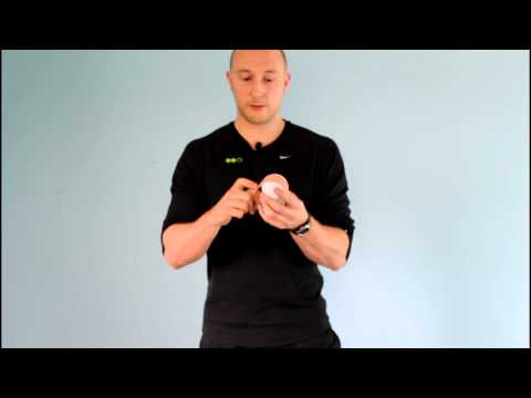 How To Make A Peanut With Lacrosse Balls