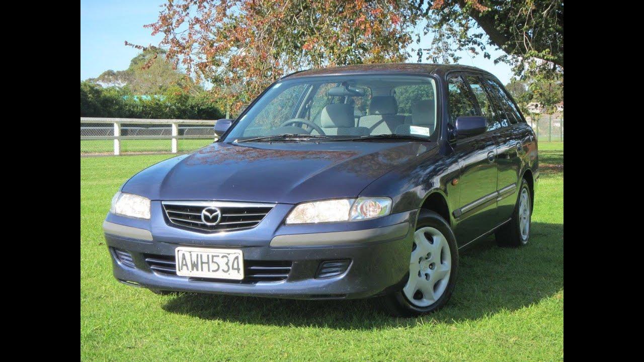 2002 mazda 626 glx nz new wagon $no reserve!!! $cash4cars