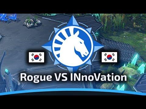 Rogue VS INnoVation - ZvT - WardiTV Team Liquid Map Contest Tournament 6 - polski komentarz