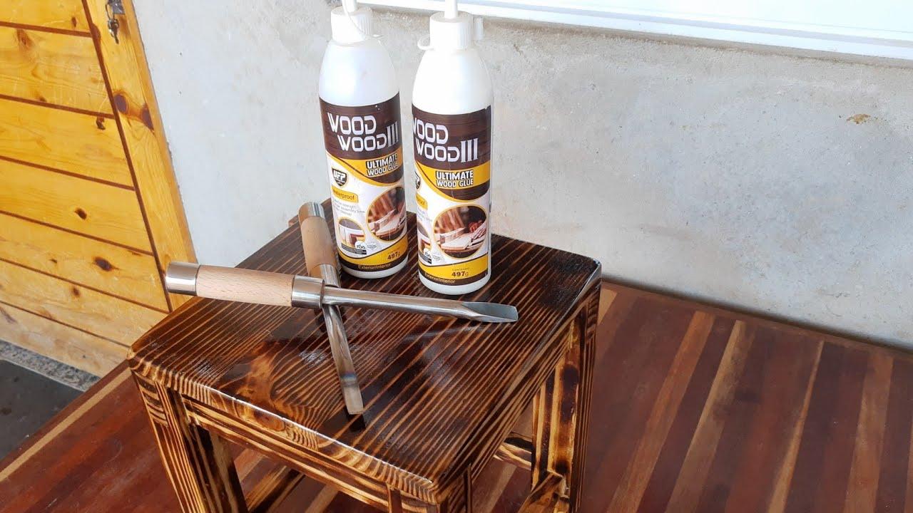 Brilhante ideia - formão feito de uma talhadeira #Wood-Wood-III