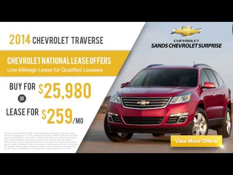 2014 Chevy Traverse Lease Deals & Financing Offers