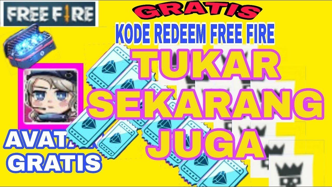 KODE REDEEM FF FEBRUARI 2020 |KODE GRATIS FREEFIRE - YouTube