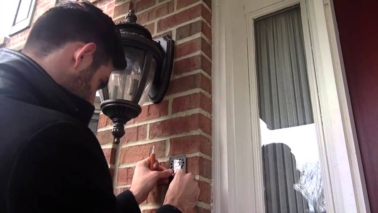 How To Install Ring Video Doorbell On Brick