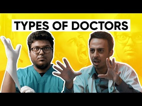 Types Of Doctors | When Indian Parents Force You To Be A Doctor | Jordindian