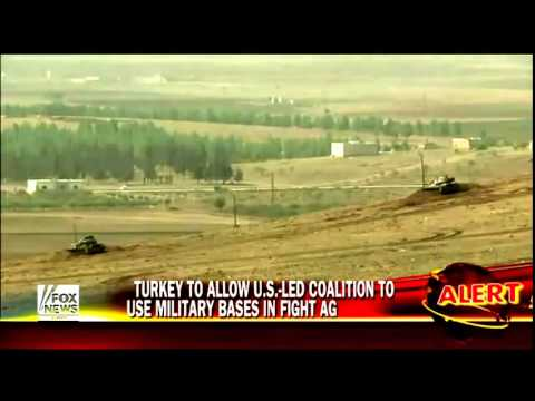 Turkey to let US-led coalition use its bases, territory to fight ISIS