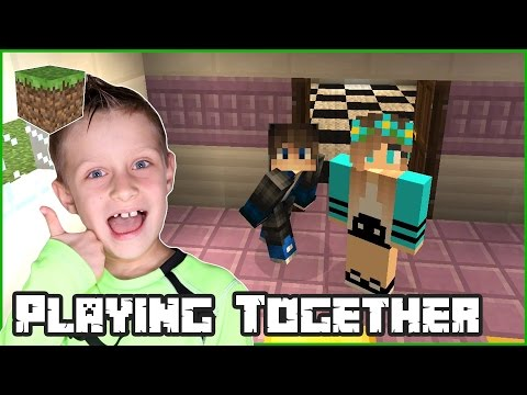 Playing Together / Minecraft