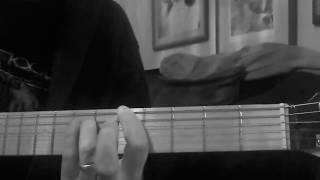 Naked Girl Falling Down The Stairs by The Cramps, Slow Tutorial/ Guide