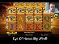 Eye of Horus BIG WIN online slots