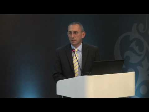 Howard Stevenson's presentation during the one-day sustainable mining business conference