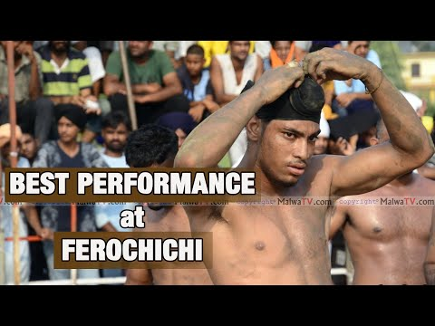 SABBA KLANAUR - BEST PERFORMANCE at FEROCHICHI KABADDI CUP - 2019