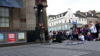 MC Xander Edinburgh Fringe Reggae Beatbox Street Performer