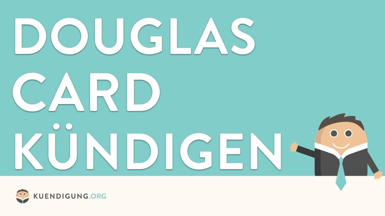 Konto löschen douglas mein Douglas Card