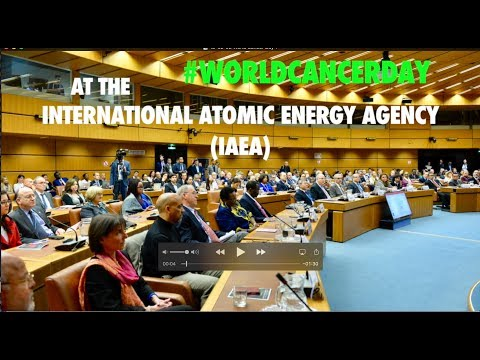 World Cancer Day at the International Atomic Energy Agency