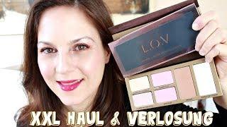 XXL LOV Cosmetics Haul  Neuheiten & First Impression / mit MEGA Verlosung