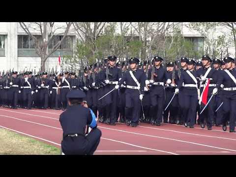 平成30年度 防衛大学校 第66回開校記念祭 観閲行進 Parade of National Defense Academy Of Japan