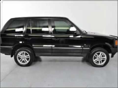 2001 Land Rover Range Rover - Carrollton TX - YouTube