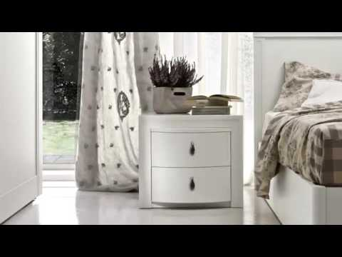 Camere da letto contemporanee by Colombini - YouTube