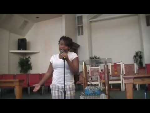 kayla morton singing encourage yourself