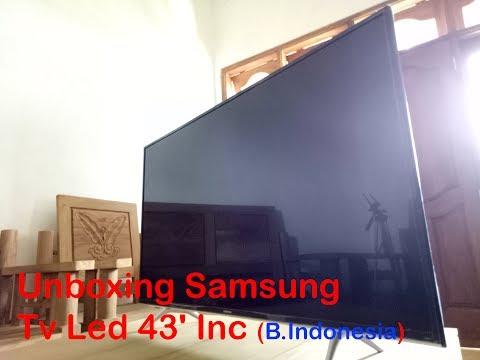 Unboxing Samsung Tv Led 43' Inc (Bahasa Indonesia)