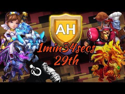HBM AH | 1min34secs | 29th | Castle Clash