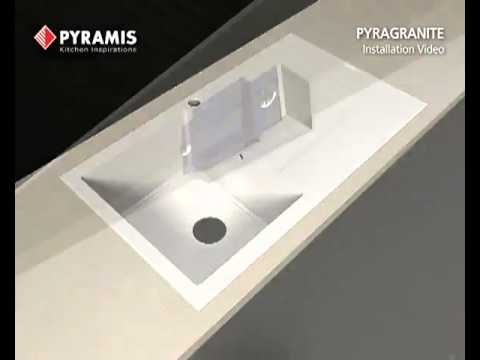 Pyramis Pyragranite Sink Installation Video