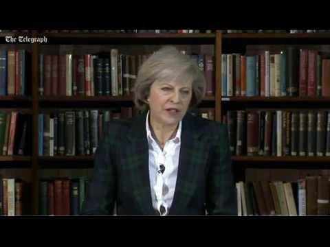 Theresa May battles for leadership