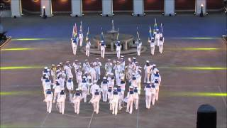Royal Swedish Navy Cadet Band at Zürich Tattoo 2013