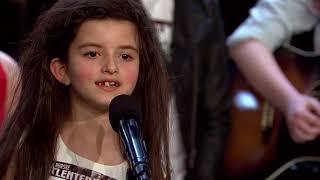 Angelina Jordan performs acapella audition to semi final (pa...