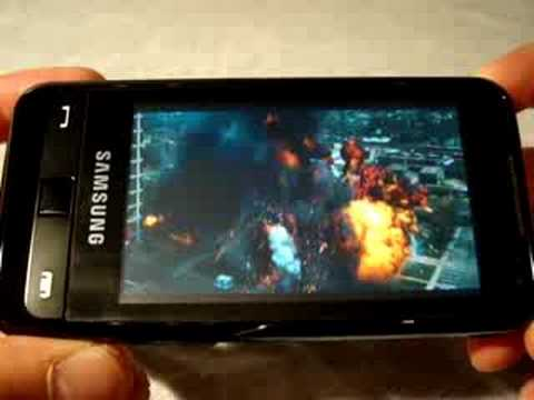 Samsung SGH-i900 Omnia video playback (and sound) quality
