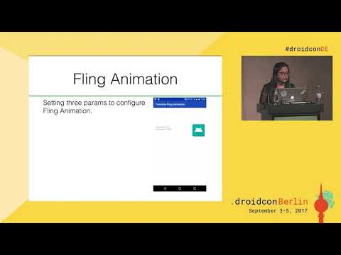 #droidconDE 2017: Richa Khanna - Animations + Physics = cool App transitions - DAY 2