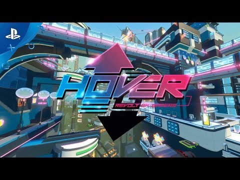 Hover – Release Date Announcement Trailer   PS4