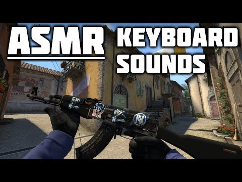 [ASMR] Pure Keyboard Sounds - Counter-Strike Global Offensive