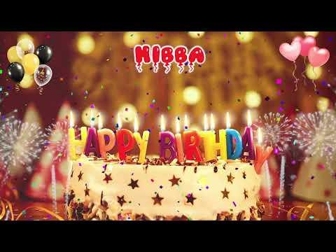 Download HIBBA Birthday Song – Happy Birthday Hibba
