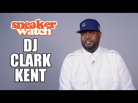 DJ Clark Kent on Wearing Brand New Sneakers Every Day for 12 Years