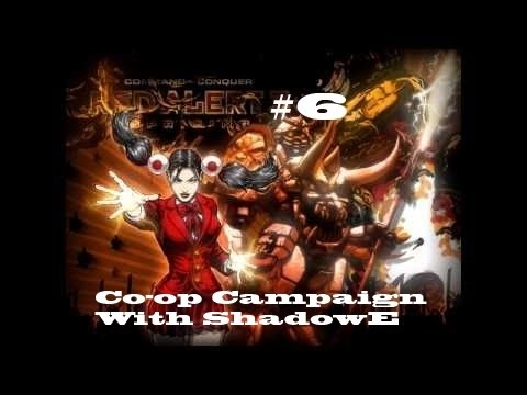 Co-op Let's Play Command & Conquer: Red Alert 3 Empire Mission 6 [Santa Monica]