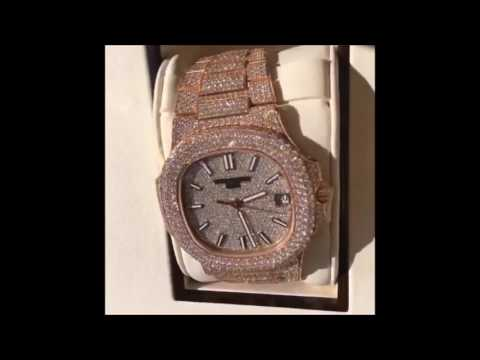 Rapper PLIES Shows Off His New Diamond Watch  BLING, BLING, LOL!