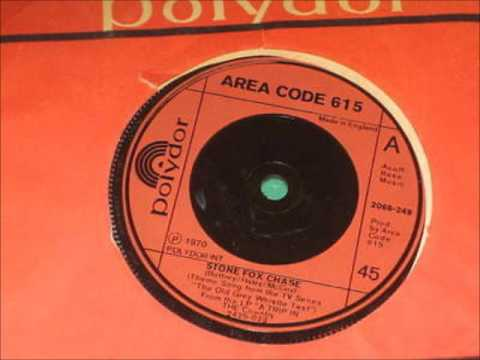 ♪ Area Code 615 - Stone Fox Chase   1970