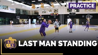 Lakers Practice: Last Man Standing