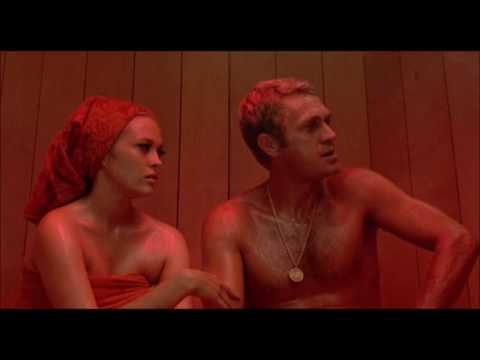 The Thomas Crown Affair (1968) - Sauna Scene (HD)