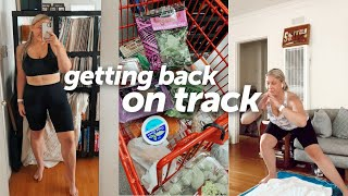 Getting Back on Track: A fitness update vlog