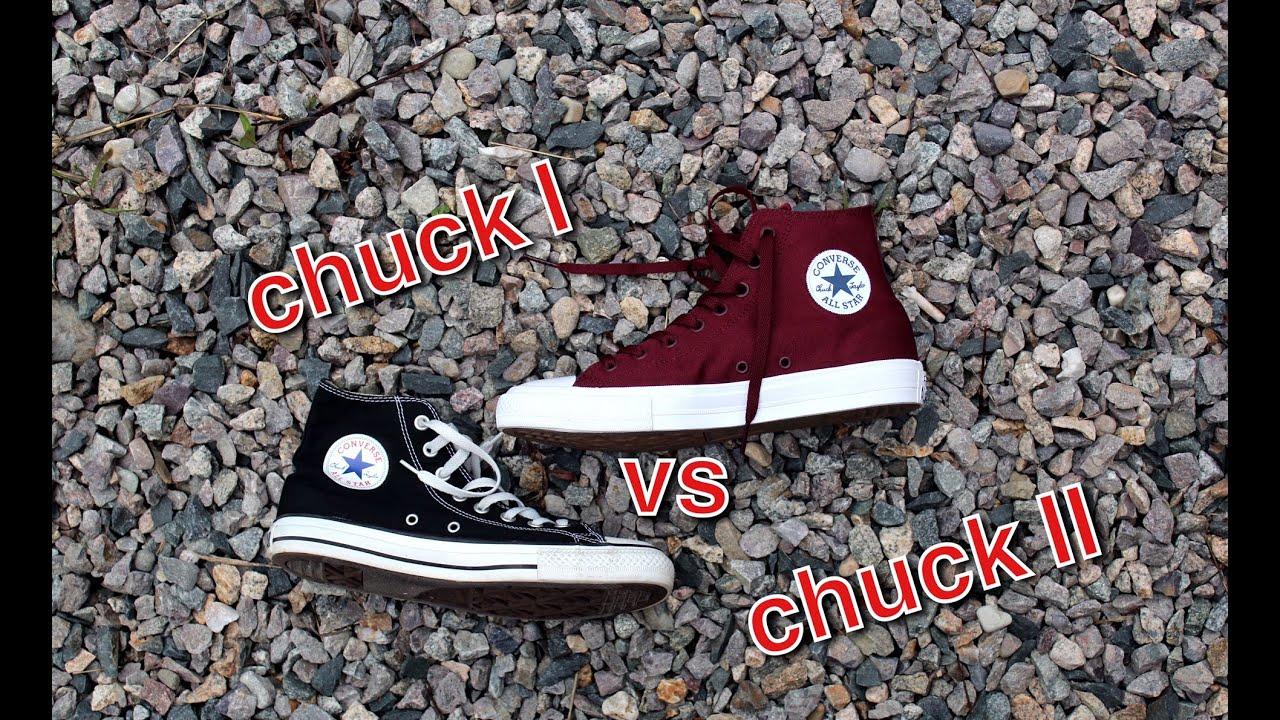converse chuck taylor 1 vs 2