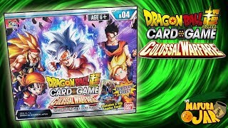 EARLY DRAGON BALL SUPER COLOSSAL WARFARE BOOSTER BOX OPENING!!!
