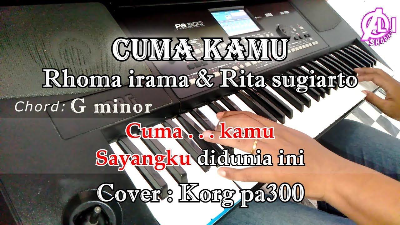 Teman Rhoma Irama Karaoke Dangdut Cover Korg Pa300 Youtube